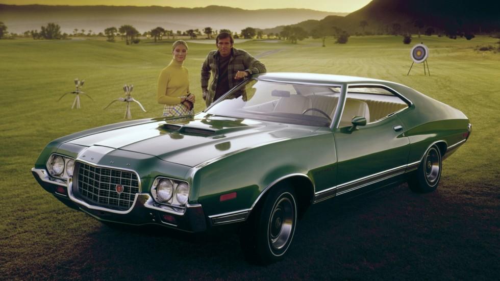 На фото: Ford Gran Torino SportsRoof 1972