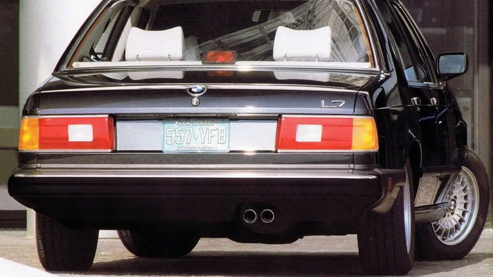 На фото: BMW L7 (E23) '1986–87
