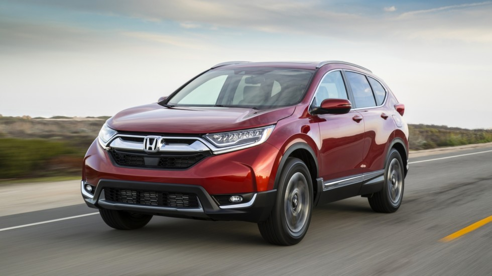 2017 Honda CR-V North America '2016–н.в.