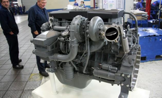 Новые мотора КАМАЗ будут собираться помировым стандартам