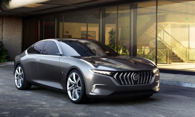 Концептуальный автомобиль  H600 отHybrid Kinetic иPininfarina будет  серийным