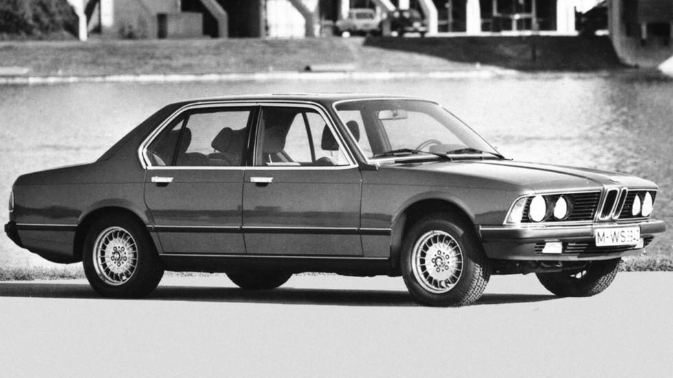 На фото: BMW 730 (E23) '1977–1979