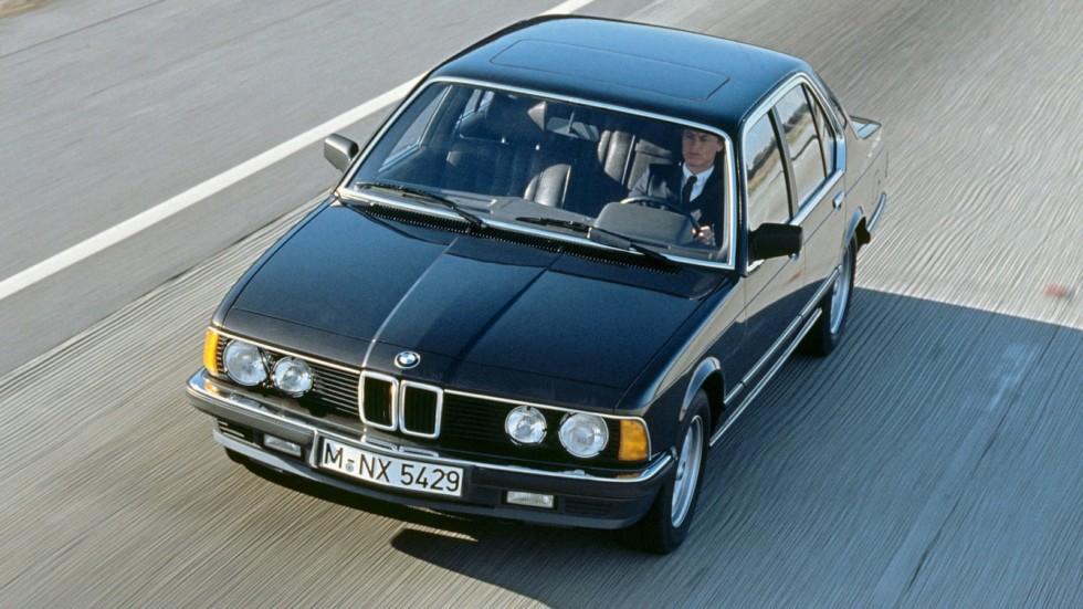 На фото: BMW 745i (E23) '1980–86