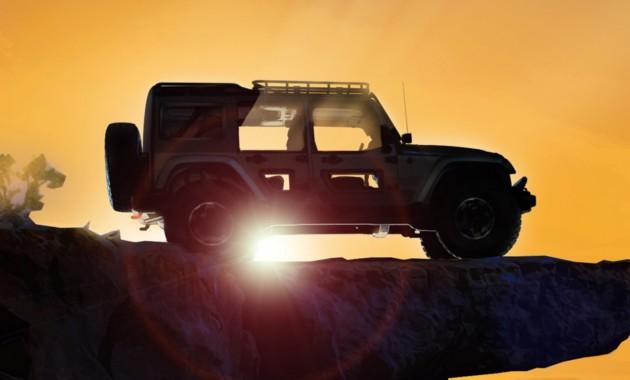 Jeep выпустил тизеры 2-х концептуальных авто