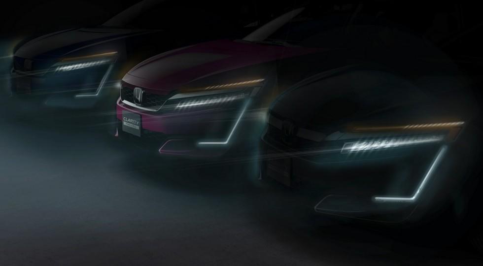 Хонда анонсировала премьеру 2-х новых моделей серии Clarity