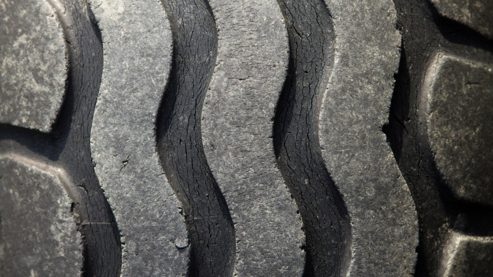 Pattern of old tires