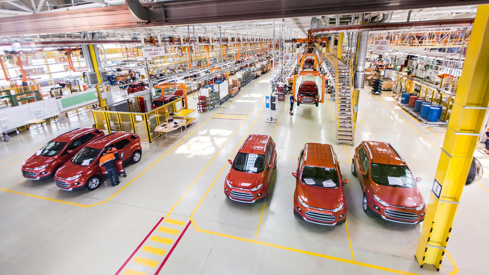 ВЕлабуге проведен 25-тысячный мотор Форд