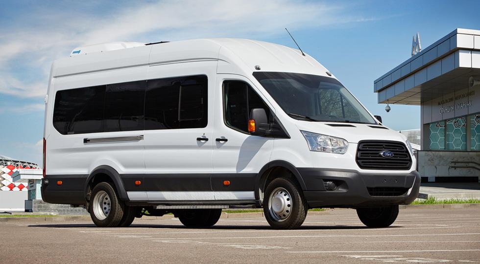 Ford Sollers отчитался о росте спроса на Transit в регионах