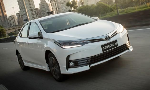 Тоёта Corolla впроцессе рестайлинга обзавёлся новоиспеченной версией XRS