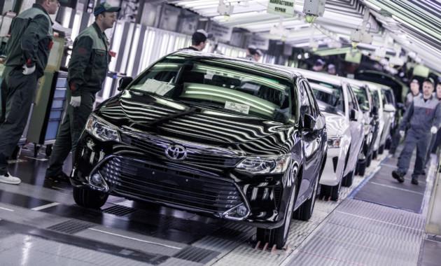 Выпуск легковых автомобилей  вРФ вконце зимы  остался напрошлогоднем уровне