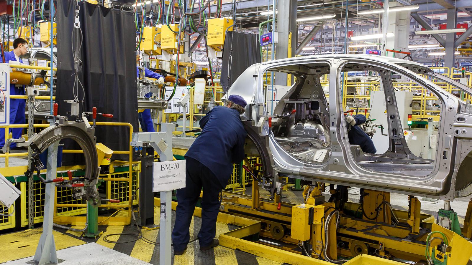 ВМинпромторге спрогнозировали рост автопрома на8,4%