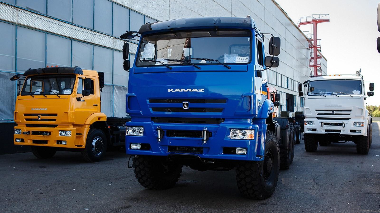 Русский рынок новых грузовиков вконце зимы 2017-ого года