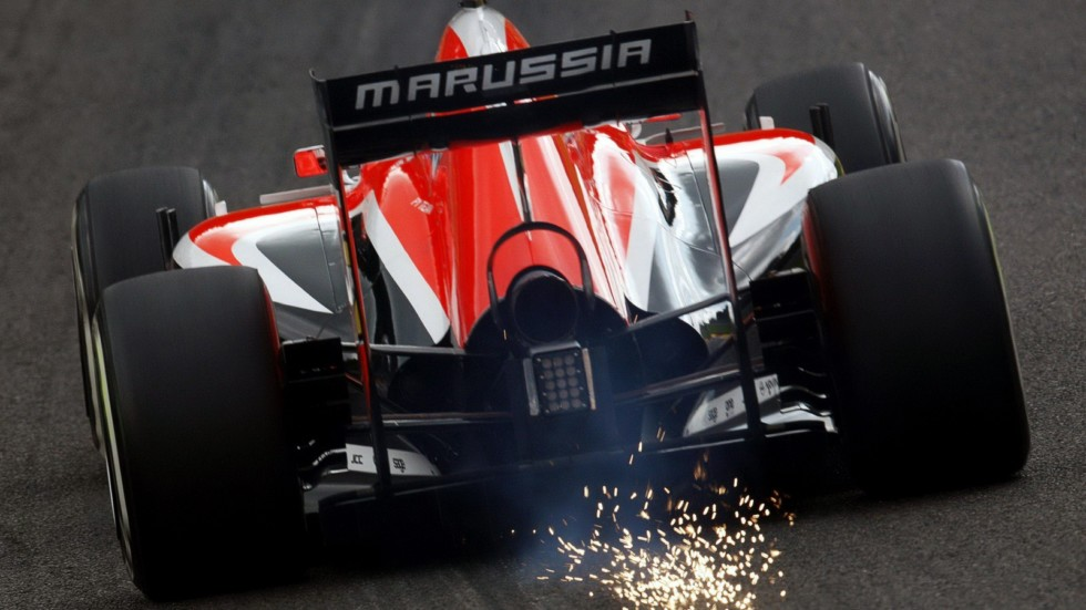 На фото: Marussia MR03 '2014