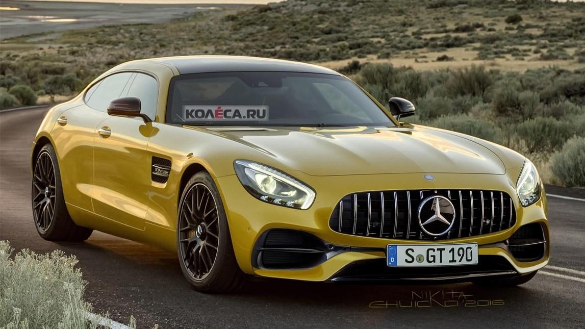 Размещен тизер нового Mercedes-AMG GT4