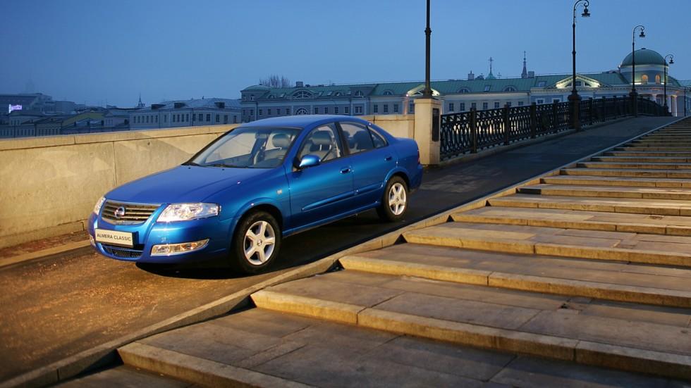 На фото: Nissan Almera Classic '2006–12
