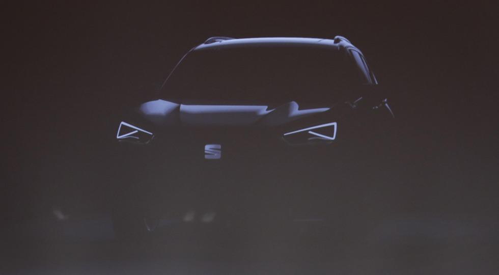 Тизер будущего флагманского SUV Seat