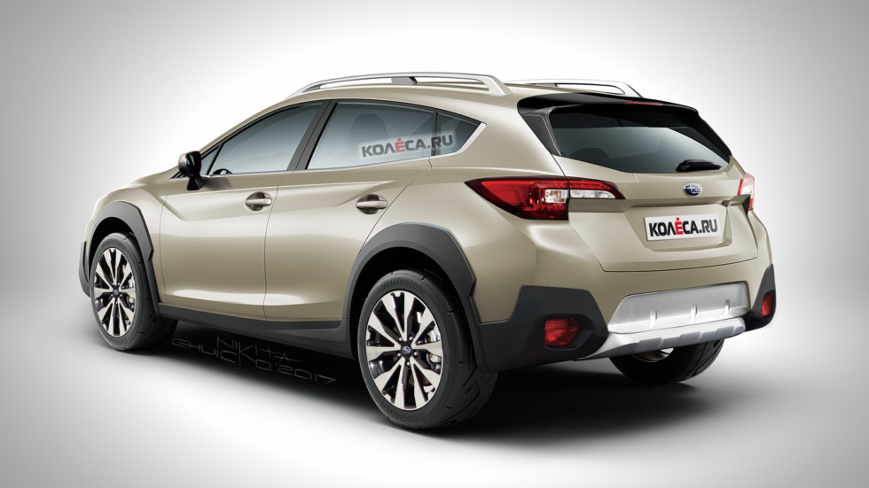 Subaru XV rear