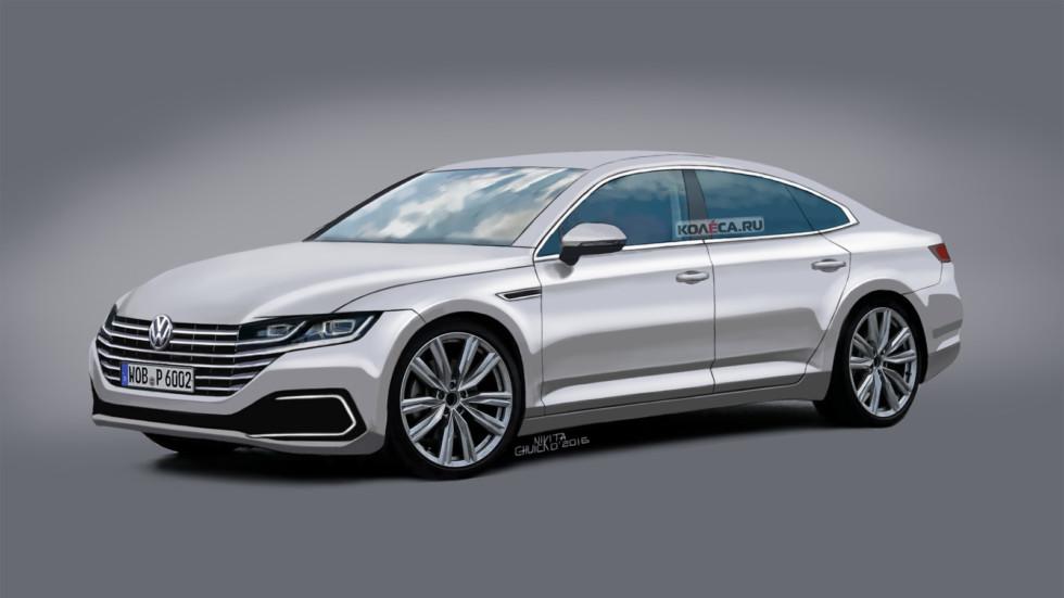 VW Passat CC front