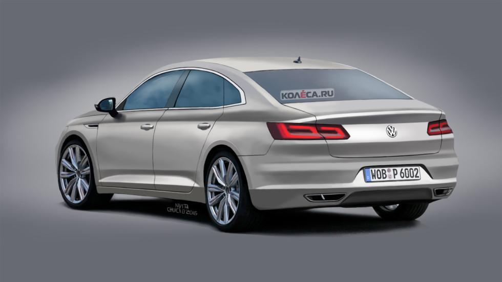 VW Passat CC rear