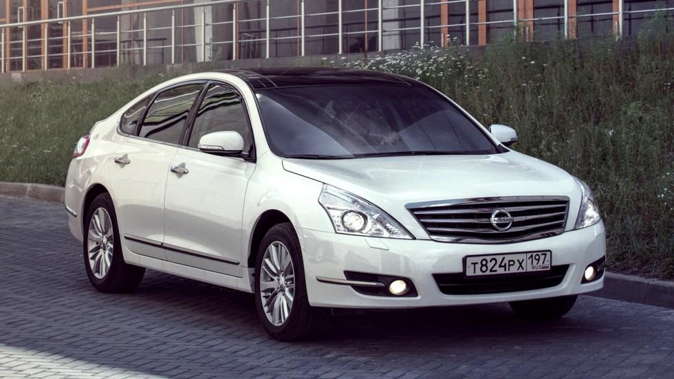 На фото: Nissan Teana (J32) '2011–14