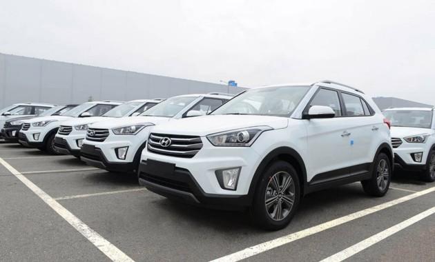 Петербургский рынок автомобилей всередине зимы вырос на0,1% год кгоду