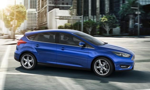 Форд Focus четвертого поколения могут представить вконце этого 2017-ого года