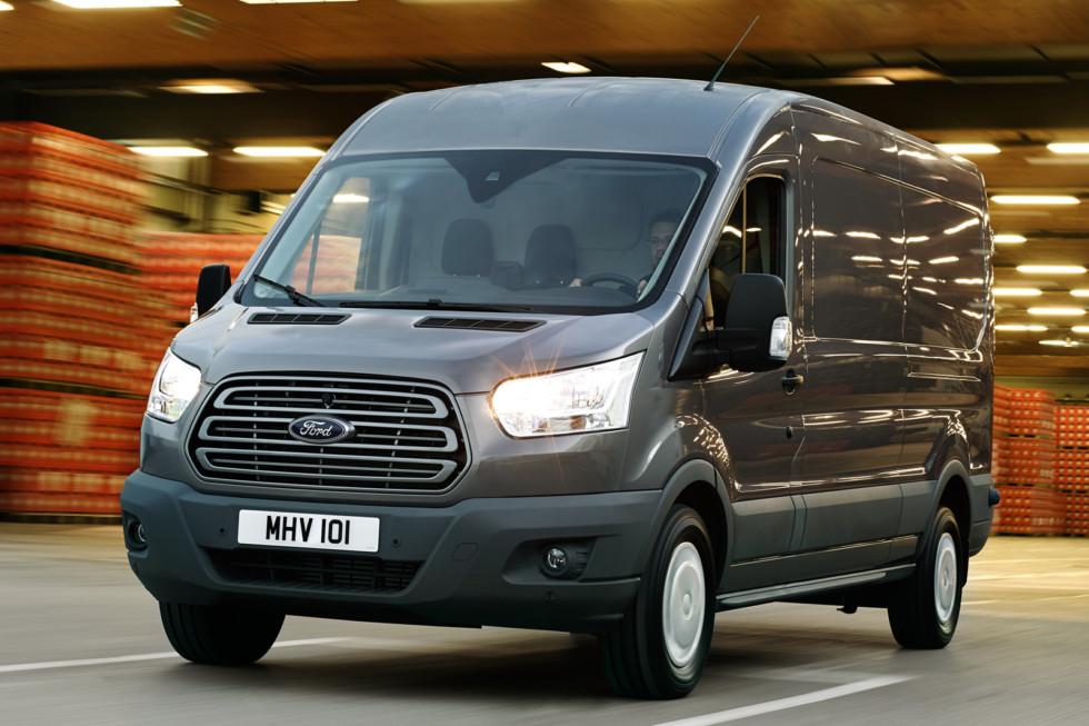На фото: Ford Transit