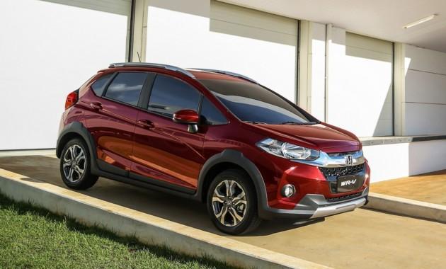 На индийском рынке открыт прием заказов накроссовер Хонда WR-V