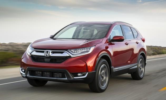 ВТаиланде состоялась официальная презентация Хонда CR-V обновленного поколения
