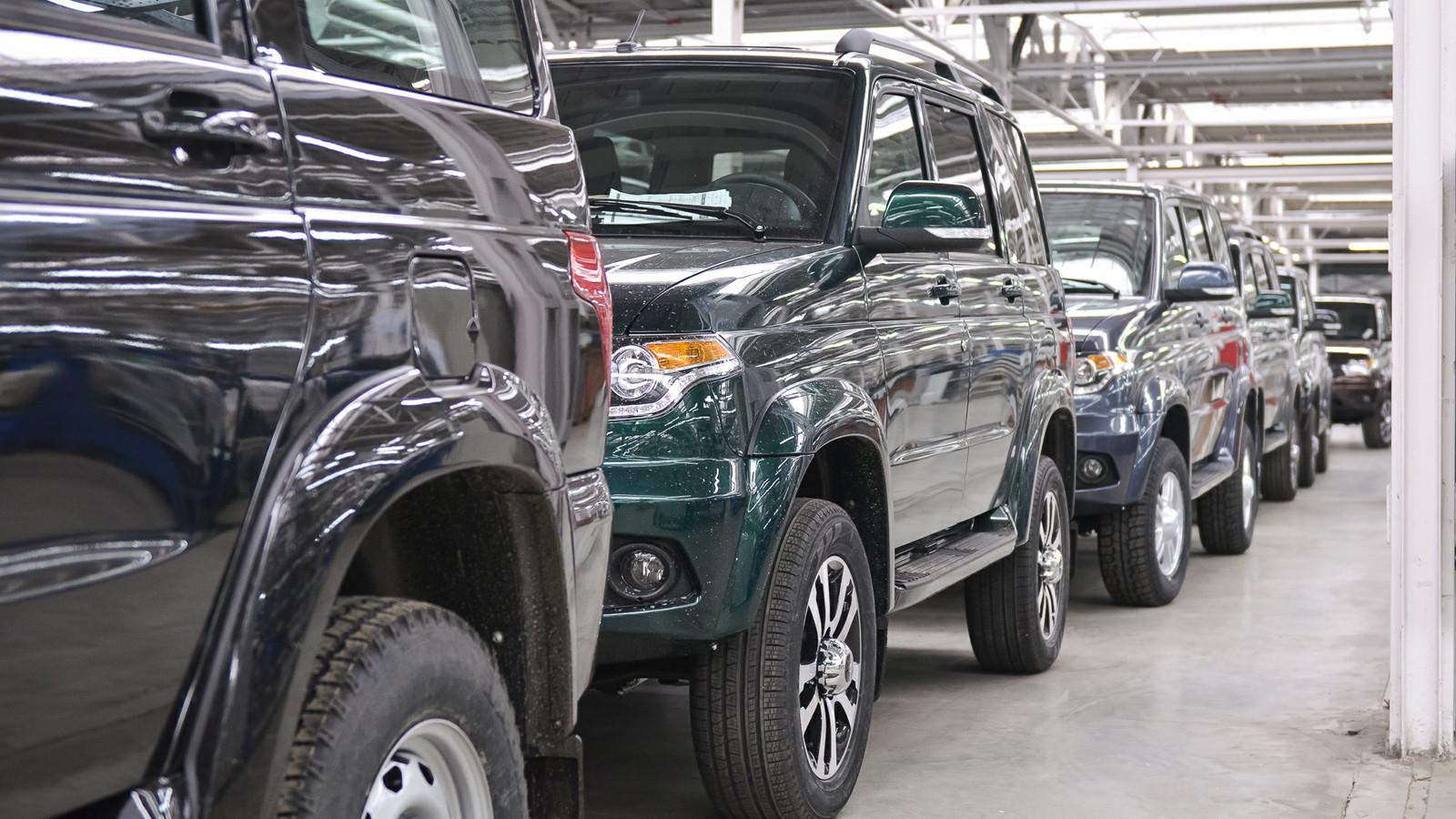 Джипы УАЗ стали устойчивее ккоррозии