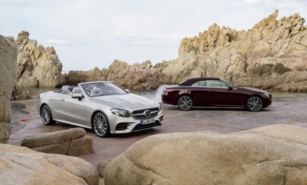 Mercedes E-Class: новый кабриолет завершил сбор линейки