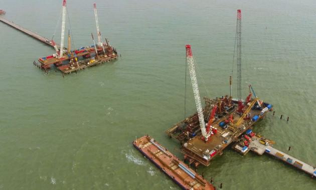 Всамом начале строительства Керченского моста Ростехнадзор провел 18 комплексных проверок