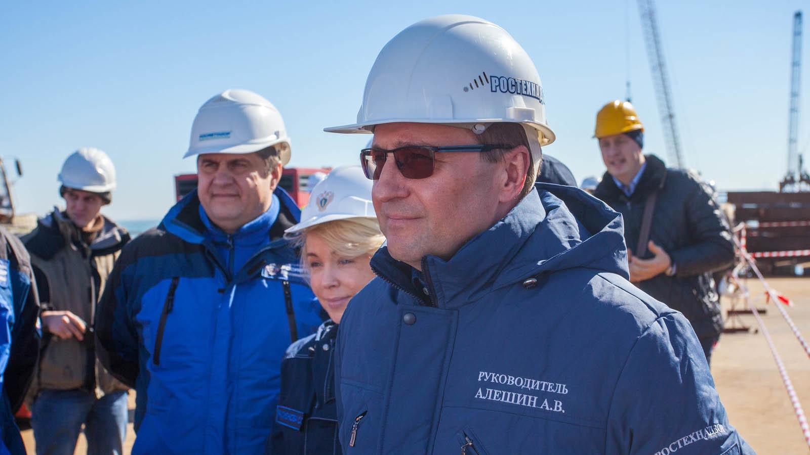 Руководитель Ростехнадзора пообещал высокое качество моста вКрым