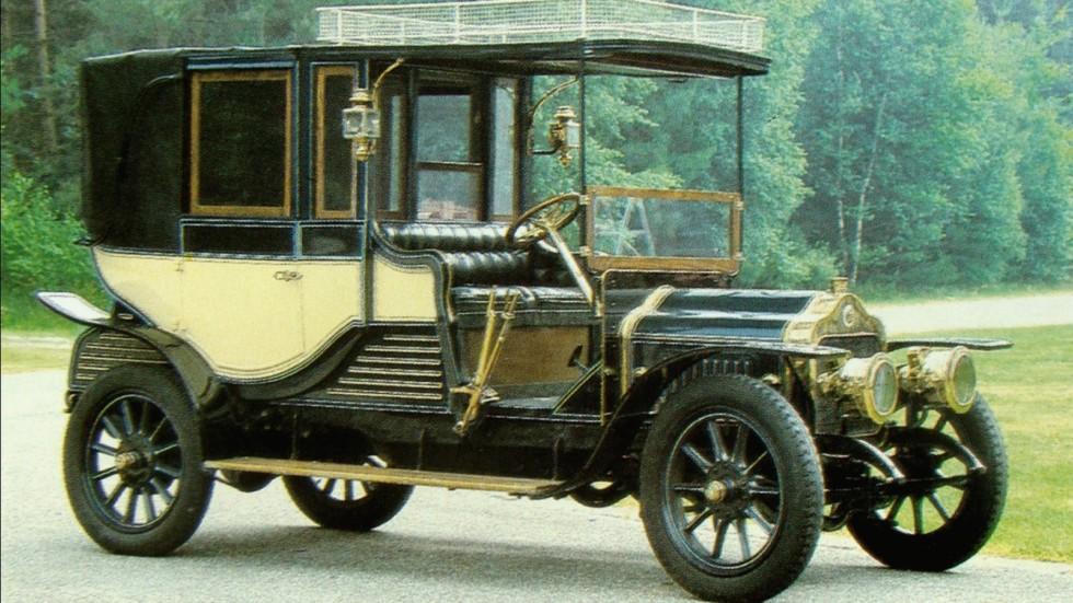 Роскошная Minerva WT с бесшумным бесклапанным мотором. 1910 год