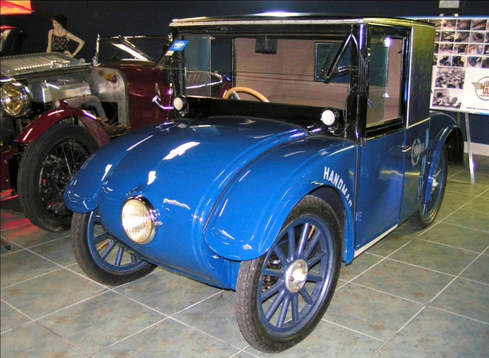 Закрытый вариант простейшей машины Hanomag Kommissbrot. 1925 год (фото автора)