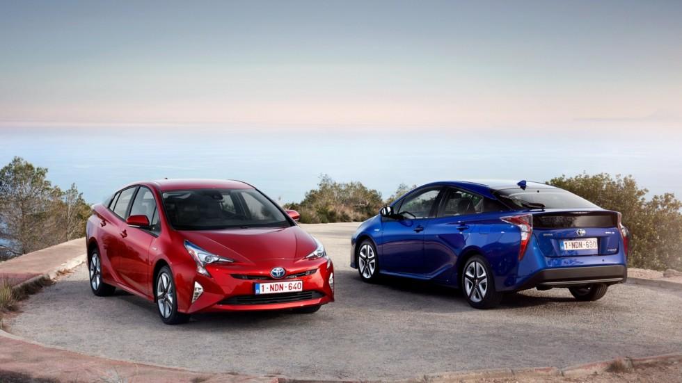 На фото: Toyota Prius '2016–н.в.