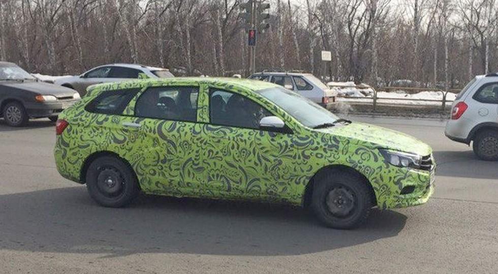 Ижевский автомобильный завод запустит производство универсала VestaSW летом нынешнего года