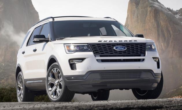 Форд покажет вНью-Йорке обновлённый Explorer
