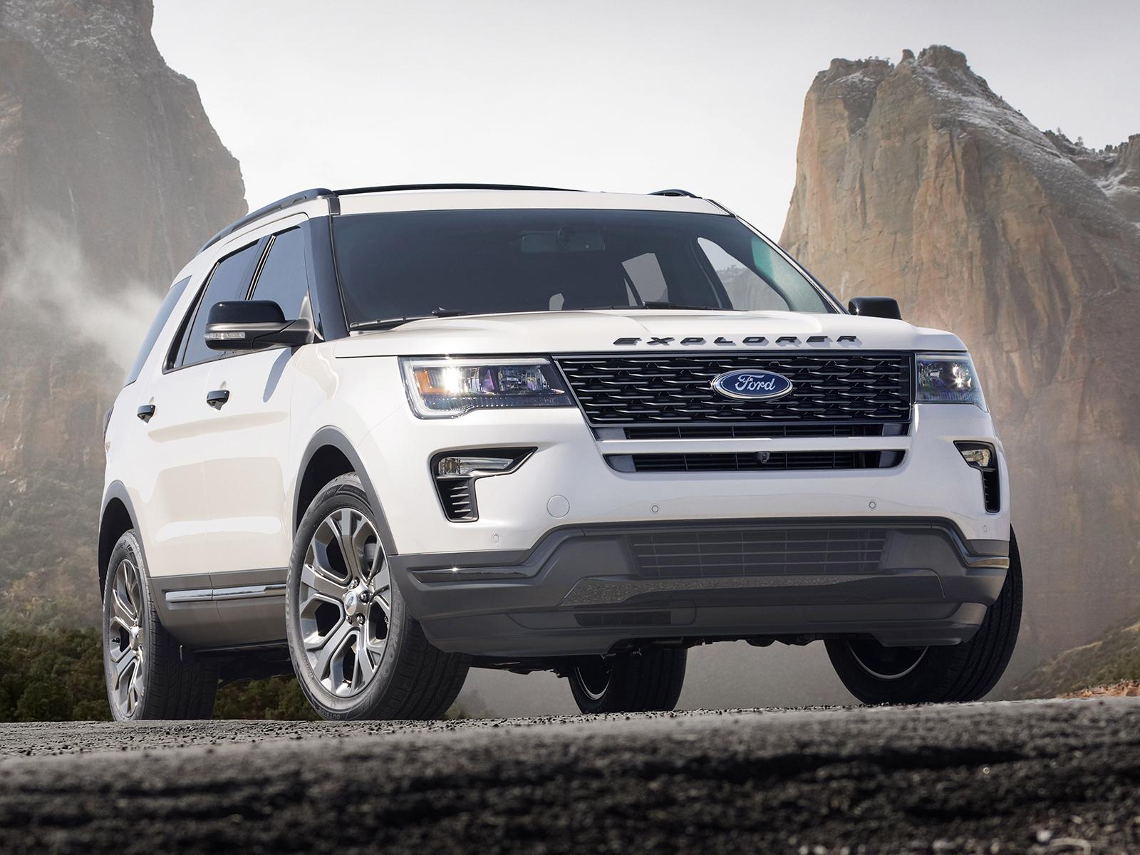 Ford Explorer 2018 года