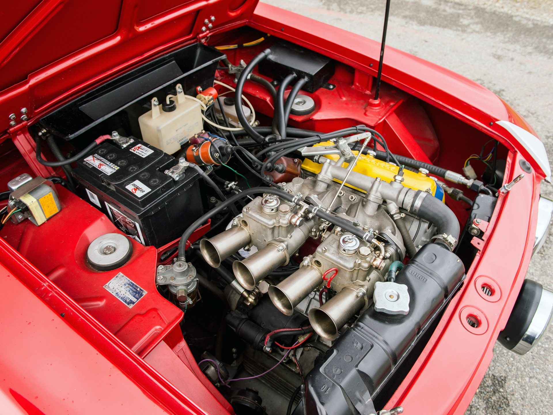Comments 1969 Lancia Fulvia 16 HF Fanalone sn 818540002124 Engine no 8185405755 Red with Black Interior Famous for their incredible craftsmanship