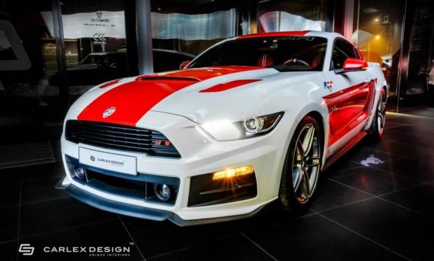 Форд MustangGT получил неповторимый дизайн изкрасной кожи