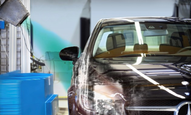 Daimler использует рентген впроцессе краш-тестов собственных машин
