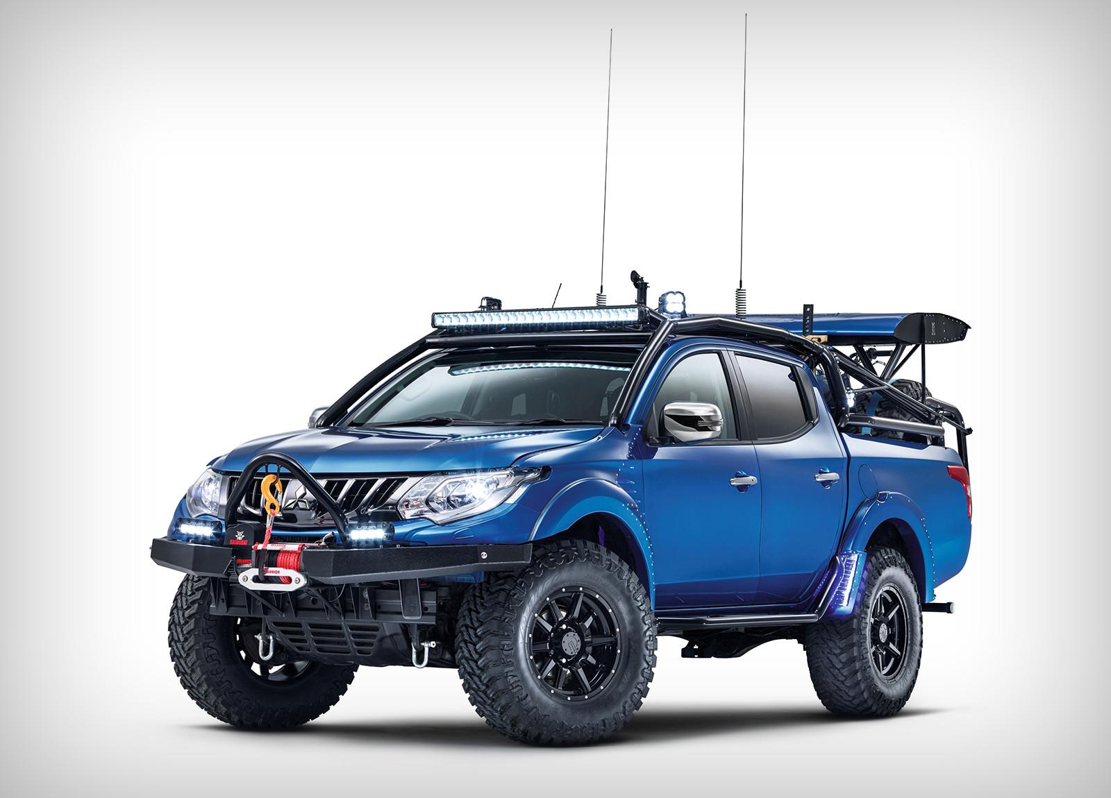 Митцубиси иTop Gear совместно построили «пустынный» L200