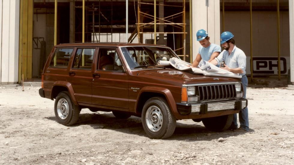 На фото: Jeep Cherokee (XJ) 1984–87