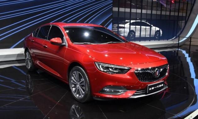 Новый Опель Insignia для Китая получил кузов седан
