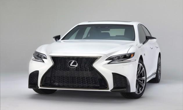Lexus показал седанLS 500 вверсии FSport class=
