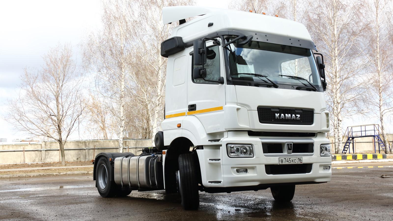 «Камаз» запустил производство улучшенного тягача 5490 Neo