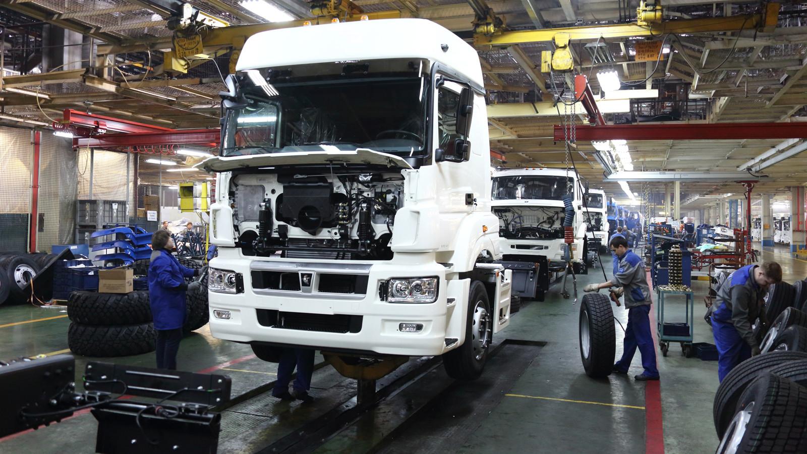 ВТатарстане началось производство новых фургонов  КАМАЗ-5490 Neo