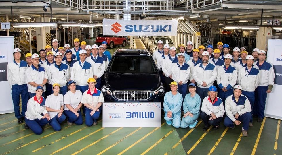 ВВенгрии выпущен трёхмиллионный автомобиль Сузуки