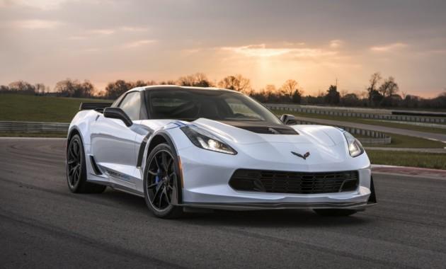 Компания Шевроле отметит 65-летие Corvette особым Carbon 65 Edition